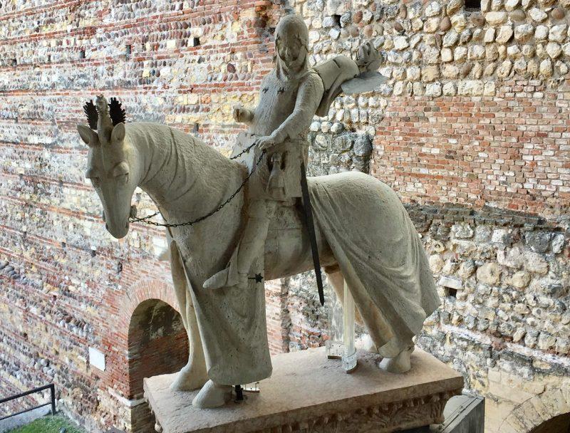 Verona - Statua Equestre Di Cangrande
