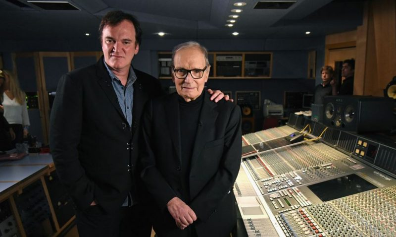 Ennio Morricone con Tarantino
