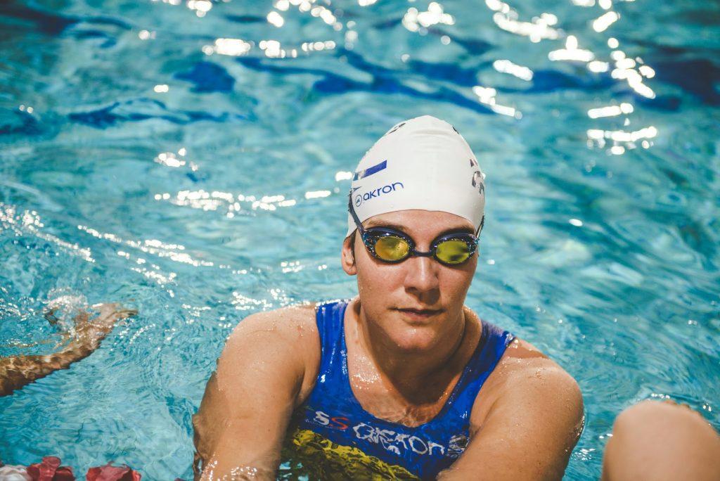 Giorgia prandini in acqua