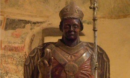 Statua di San Zeno Che Ride