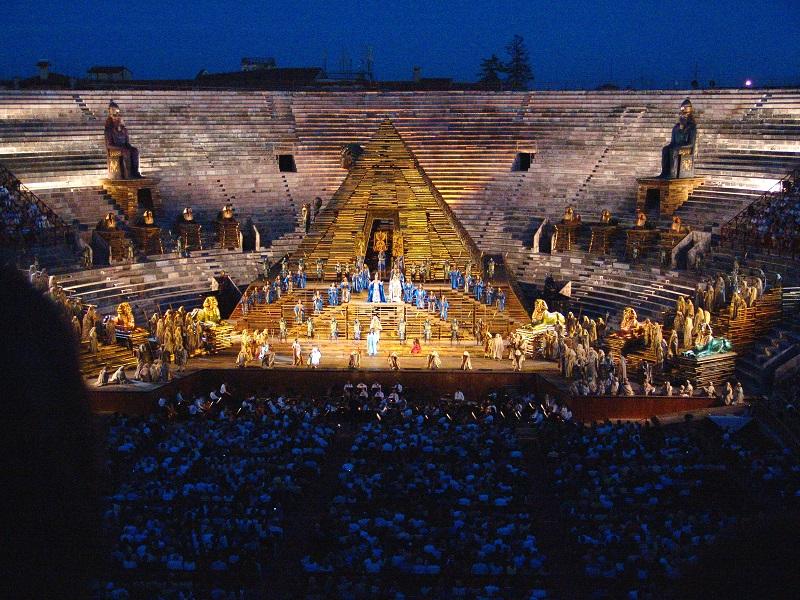 L'Aida all'Arena Di Verona il 29 Giugno 2006