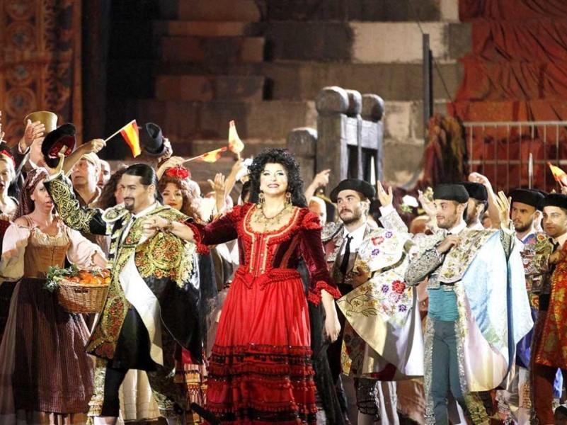 Opera Festival: la Carmen messa in sccena