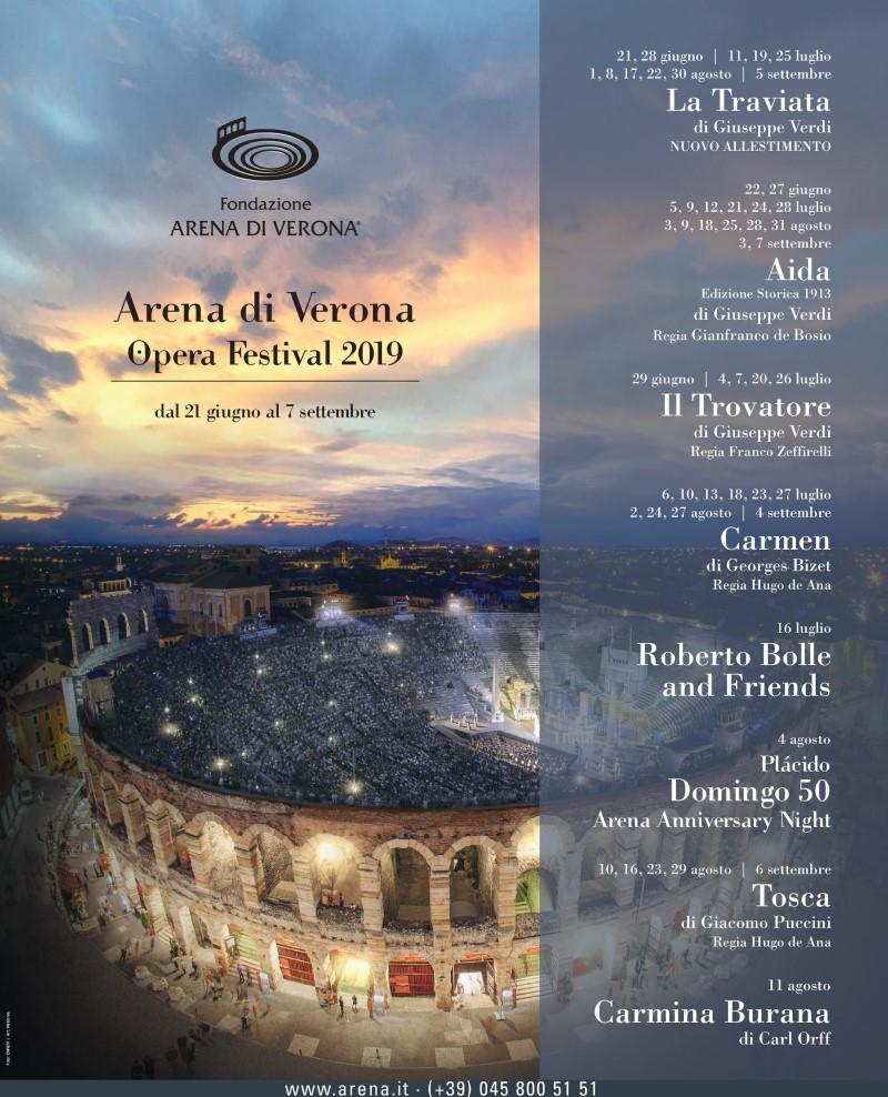 Opera Festival: locandina 2019