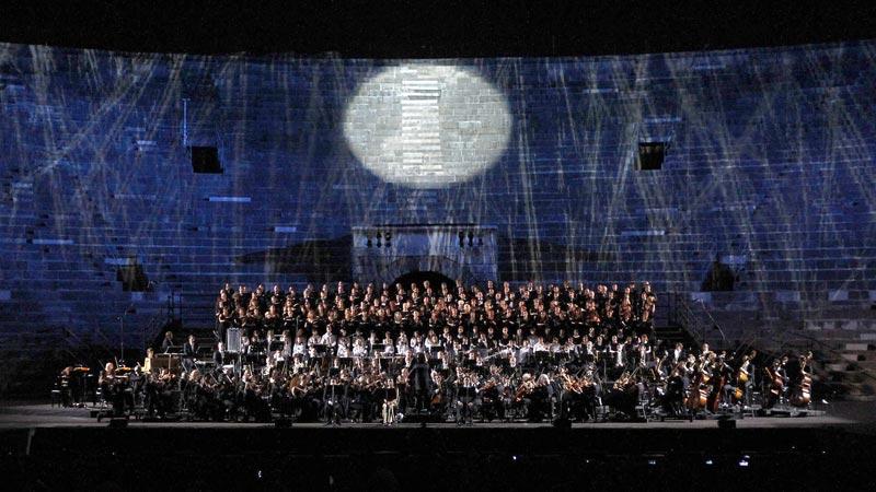 Carmina Burana All'arena Di Verona