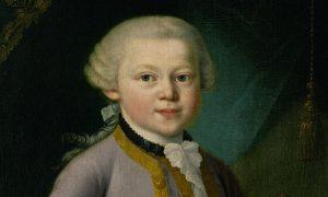 Mozart. un dipinto
