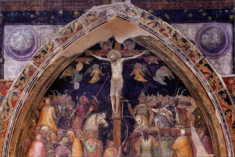 Crocifissione Di Turone Nella Chiesa Di San Fermo Maggiore