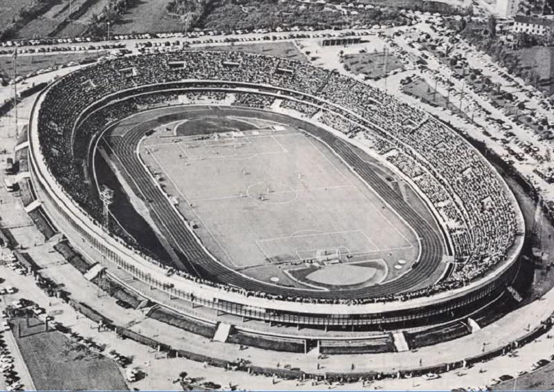 Lo Stadio Bentegodi Poco Dopo La Sua Costruzione
