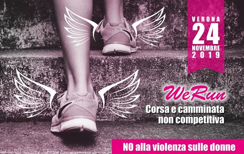 violenza sulle donne: locandina We Run