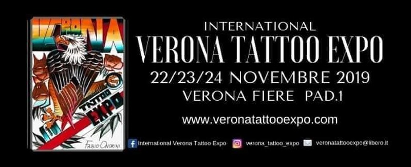 International Verona Tattoo Expo 1