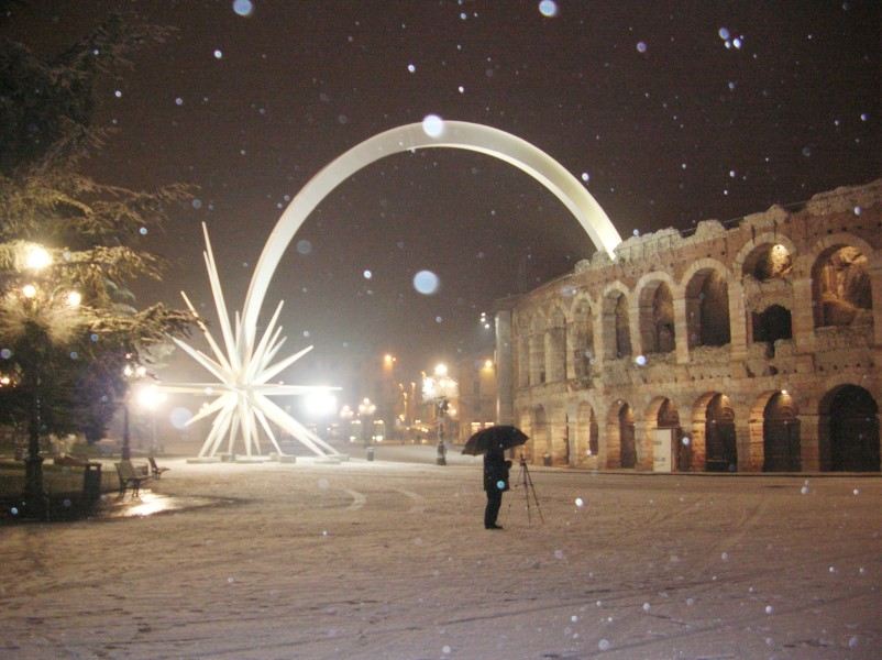 Stella Cometa in Piazza Bra