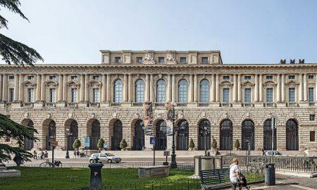 Gran Guardia: la facciata principale