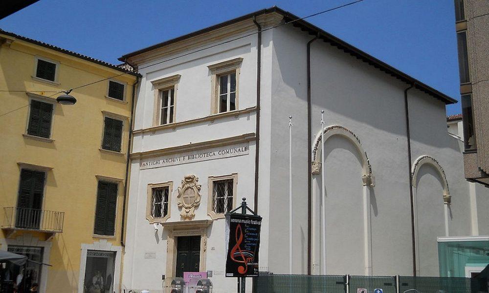 Biblioteca Civica Verona Ingresso