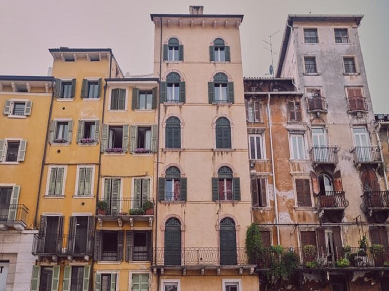 Case Ghetto Ebraico comunità sinagoga  Verona