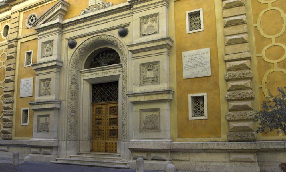 Facciata Sinagoga comunità ebraicaVerona