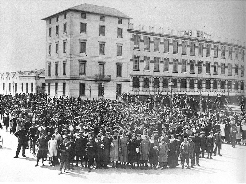 Lavoratori Borletti 1907 Milano Via Washigton Primo Maggio