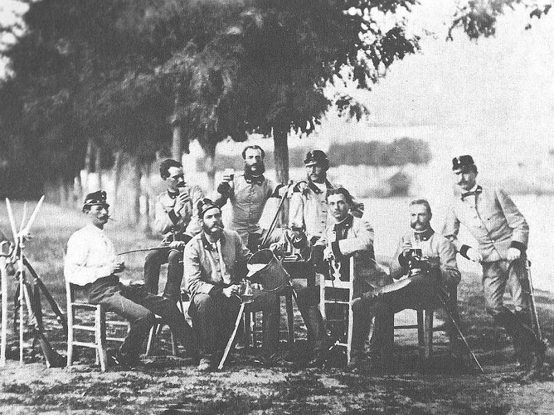 Militari Austriaci Arsenale Forte Santa Lucia