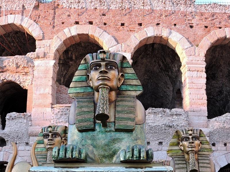 Arena Sfinge Aida Musica