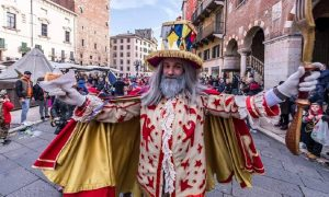 Papa Del Gnoco Carnevale Veronesi