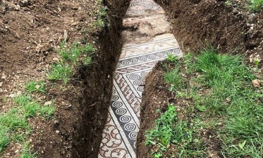 Scavi Pavimento Negrar Mosaico