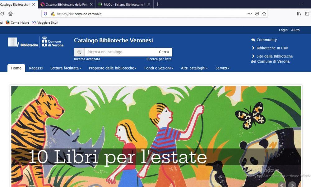 Sistema Bibliotecario Veronese e provinciale