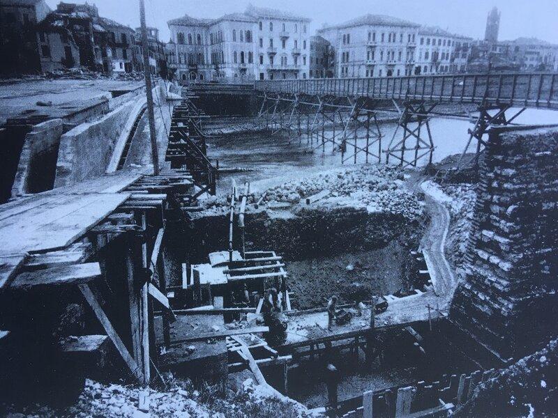 Ponte Garibaldi In Costruzione