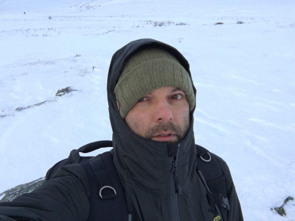 Silvano Paiola, durante un suo viaggio-reportage.
