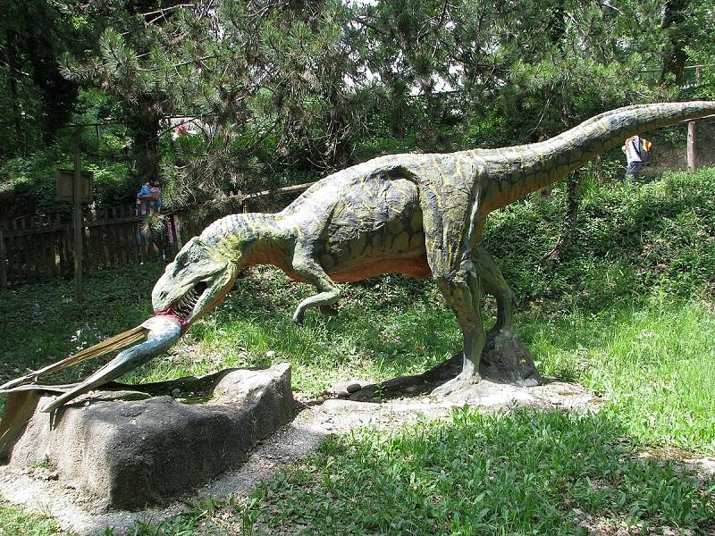 Parco Natura Viva Dinosauro