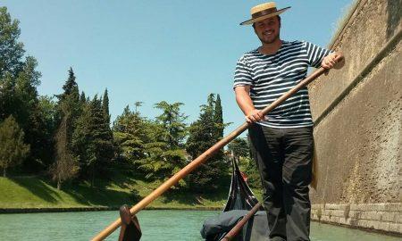 Marco Donatelli Zamboni E La Sua Gondola