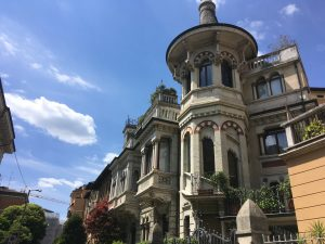 Il quartiere Trento e l'equivoco del Liberty