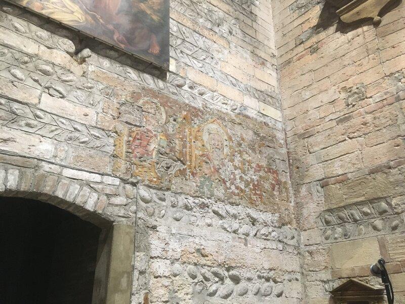 Affresco originario in San Giovanni in Foro