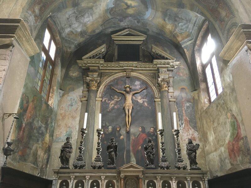 Altare maggiore di San Giovanni in Foro