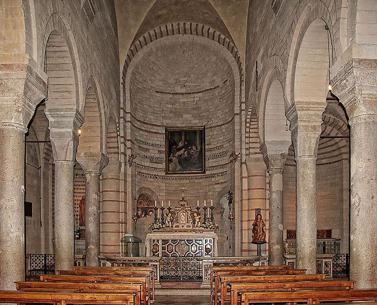 Arche Scaligere - altare Santa Maria Antica