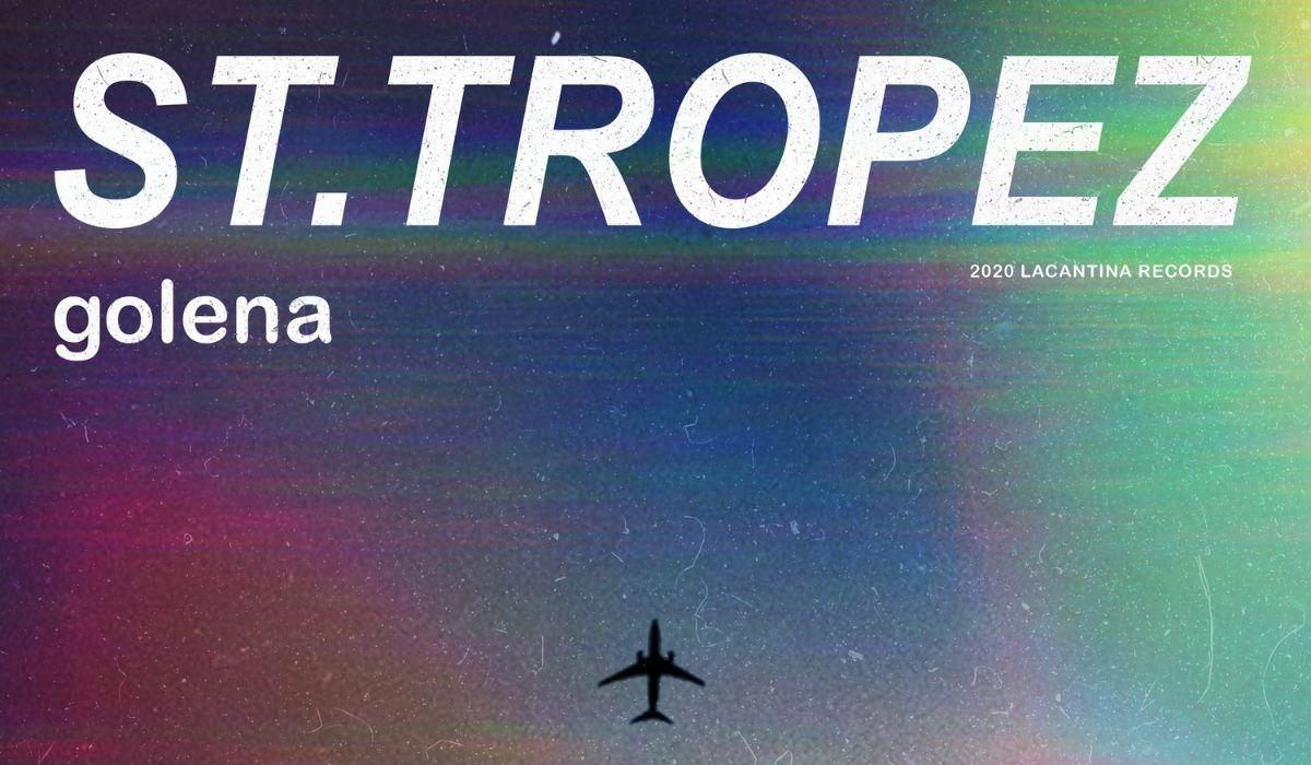 Un dettaglio della copertina del singolo St. Tropez