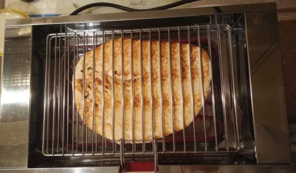 Fogassa Su La Gradela La Cottura