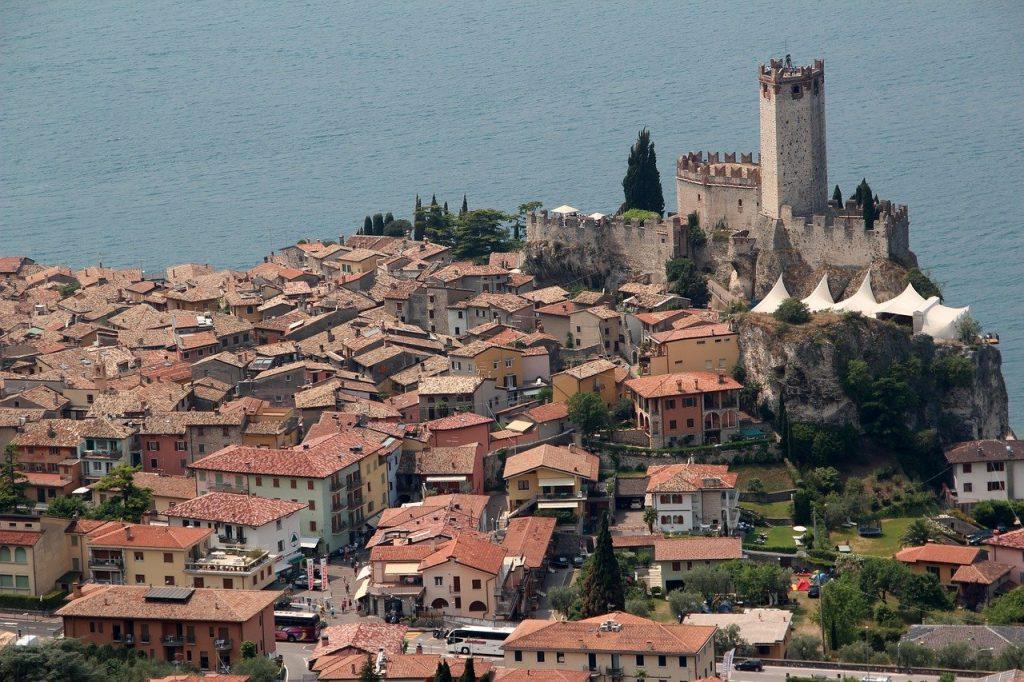 Il Castello Scaligero Di Malcesine