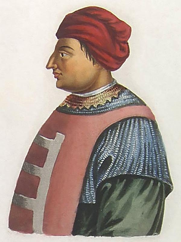Ritratto Cangrande Della Scala
