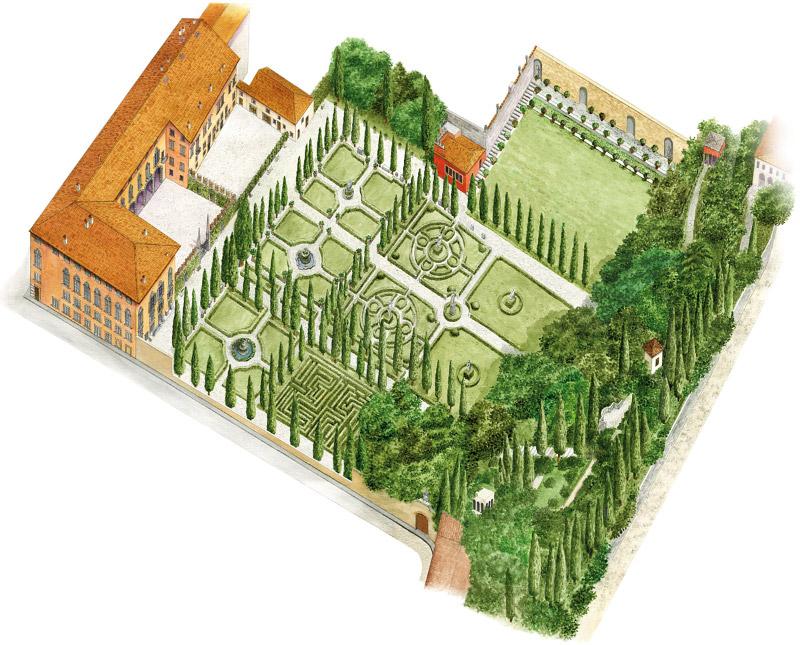 Giardinogiusti Mappa