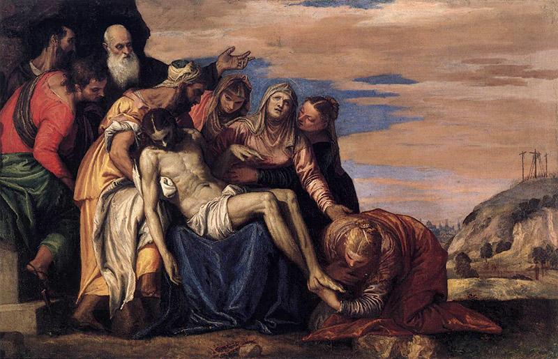 Paolo Veronese - Lamentazione Su Cristo Morto