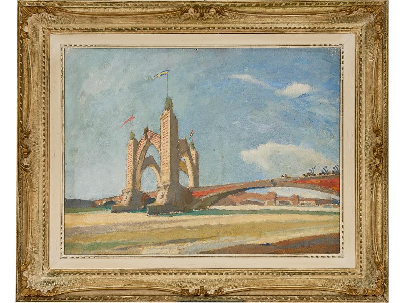 La ricostruzione di Ponte della Vittoria di Albano Vitturi