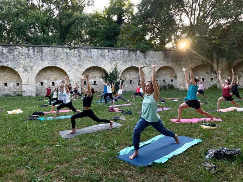 Attività di yoga