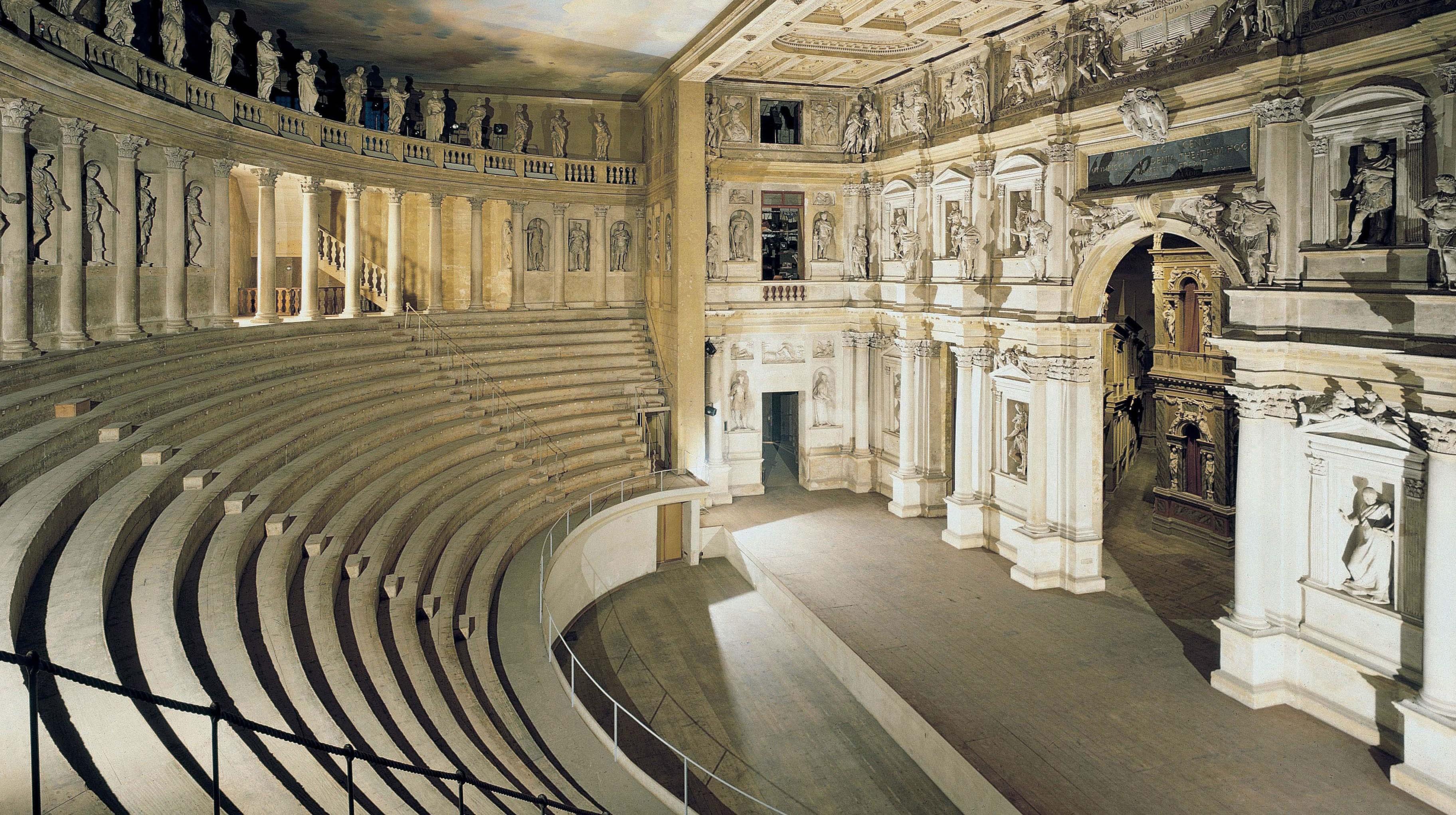 Teatro Olimpico Di Vicenza