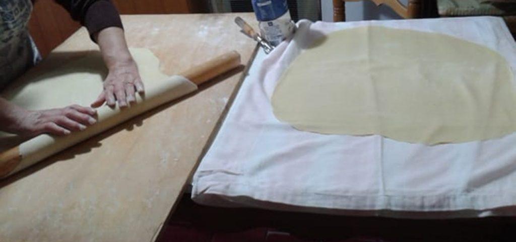 casalinga - sfoglia da tagliare