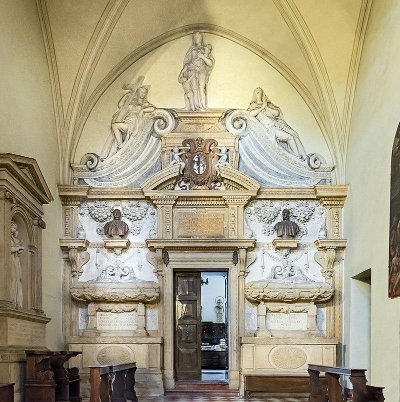 La cattedrale di Vicenza - Cappella Di San Girolamo con stucchi