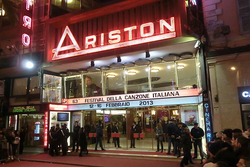 Francesca Michelin - Teatro Ariston durante il festival