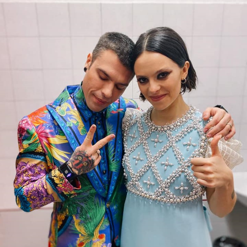 Fedez/Michielin - Fedez e Francesca