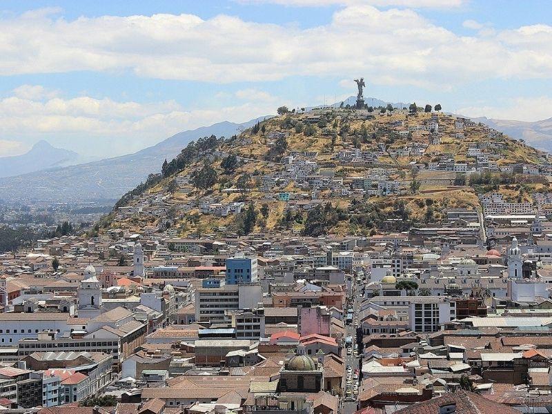 La Città Di Quito In Ecuador