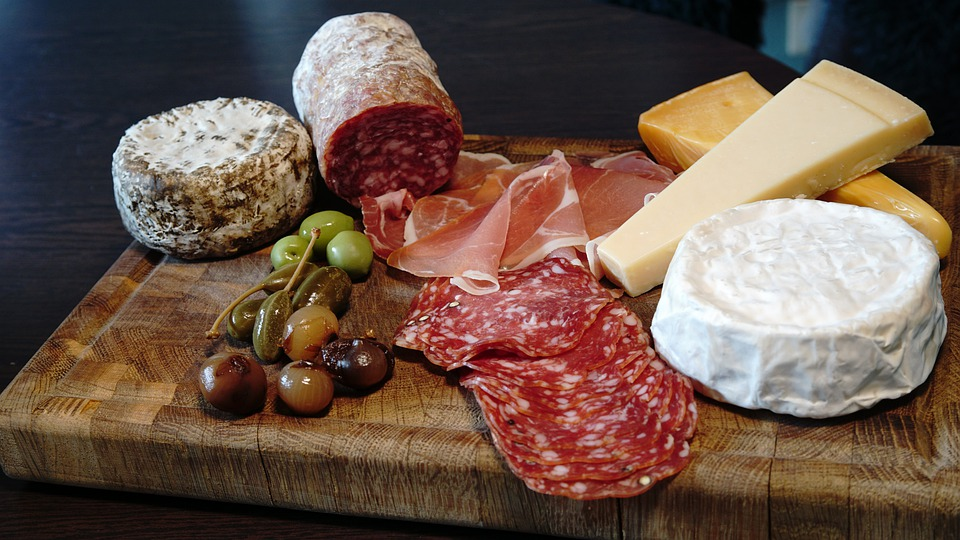 La sopressa vicentina - Soppressa E Salame con formaggio