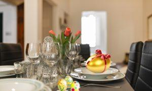 Xe Pasqua Xe Pasqua - Tavola Imbandita A Pasqua