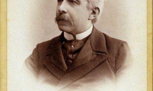 Antonio Fogazzaro - ritratto fotografico dell'autore