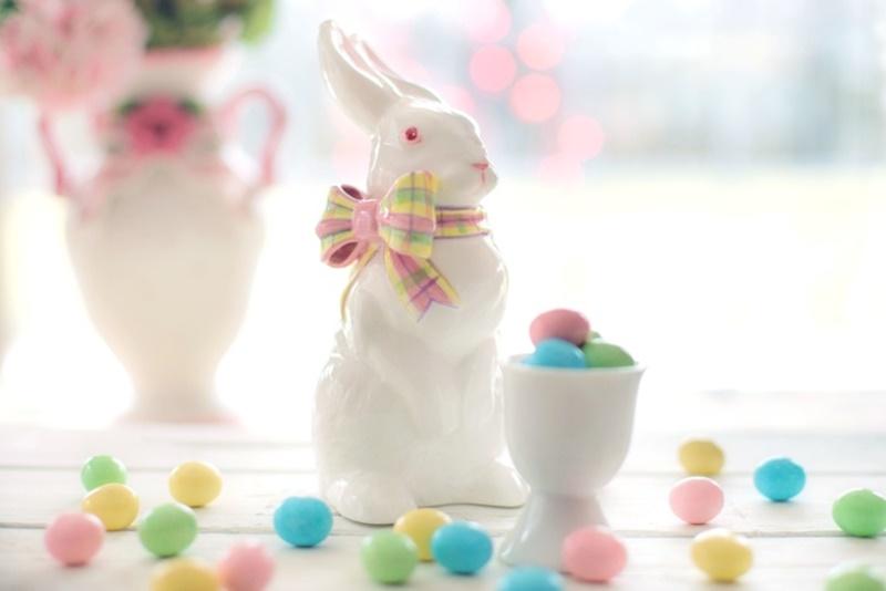 Tradizioni pasquali venete - Coniglietti e ovetti colorati